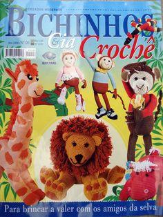 pessoal vou começar a colocar revistas completas aqui, tudo o que eu achar... a começar vou por essa revista de amigurumis =D