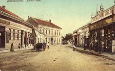 Berettyóújfalu régen  ♥ Street View, History, Historia