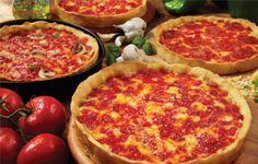 Lou Malnaits deep dish pizza!