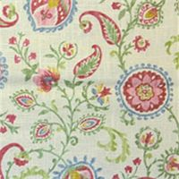 Samanu Cliffside Canvas Floral Drapery Fabric by Swavelle Mill Creek