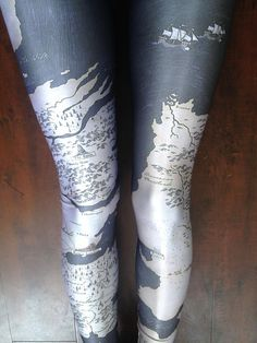 Game of Thrones Leggings?  Yes Please.