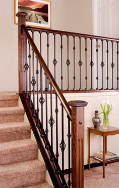 Indoor Railings and Banisters | Interior Stair Railings
