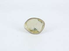 Silver Enamelled Dish Ring - Maria Whetman