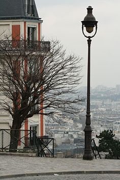 Montmartre, 18th. Paris, France A different kind of city view... artistic.