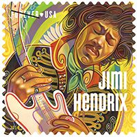 Peace, people on this third stone from the sun. Here's my Jimi Hendrix stamp for USPS! I was commissioned by the United States Postal Service last year to create a new commemorative stamp to hornor Jimi Hendrix. It was a lot of fun! Jimi Hendrix, Austin Texas, Motif Music, Commemorative Stamps, Postage Stamp Art, Going Postal, Music Icon, Cd Music, Dance Music