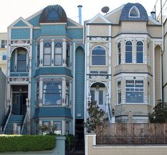 San Francisco Victorian #houses by chris