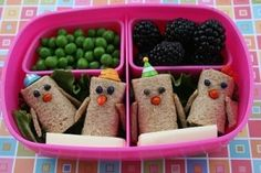 Chicky Roll Ups bento by may