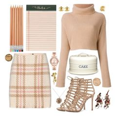 """""""Done"""" by anishagarner ❤ liked on Polyvore featuring MARC CAIN, Gianvito Rossi, Valentino, Rifle Paper Co, Kitchen Craft, BCBGMAXAZRIA, Michael Kors, Chanel, By Emily and Alex Monroe"""
