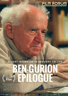 The film reveals the final years of Israel's founder, David Ben-Gurion. He allowed himself a hindsight perspective on the Zionist enterprise. Jewish Film Festival, Soul Searching, Great Leaders, Modern History, Biography, Israel, Perspective, Remote, Interview