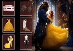 Beauty and The Beast Costumes   Apparels & Accessories