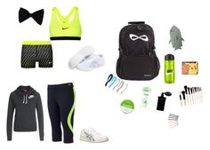 """""""Whats In My Cheer Bag"""" by jaybaby9 ❤ liked on Polyvore"""