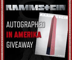 Contest; Win a signed Rammstein 'In Amerika' DVD and merch Bundle