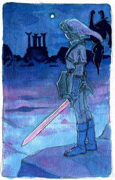 The Legend of Zelda: Twilight Princess / Link and Midna /