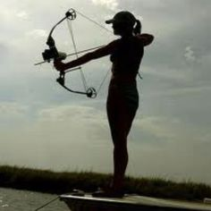 I want to go bowfishing at least once :)