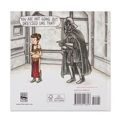 A great gift for Dad, Jeffrey Brown's Vader's Little Princess, shows doting dad Vader face the trials, joys and mood swings of raising his daughter Leia. Smart and funny, this is a book that will be e