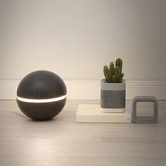 Black Cement Lamp ($260)