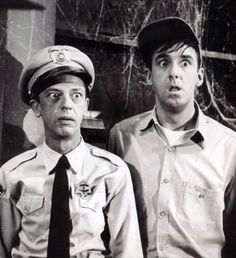 The Haunted House with Barney and Gomer.