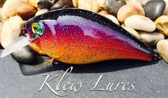 Custom Painted Lures - Sunset Series