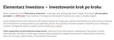 Elementarz inwestora-inwestowanie krok po kroku