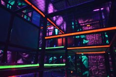 Laser Tag – we design, manufacture and install laser tag arenas. Great addition to your FEC. Contact us at sales@iplayco.com - #LaserTag #weBUILDfun
