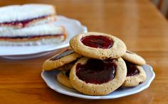 PB Thumbprint Cookies!