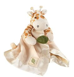 Baby Toy Gift Sets - Baby Aspen Jakka the Giraffe Little Expeditions Plush Rattle Lovie with Crinkle Leaf Brown 024 Months ** For more information, visit image link.