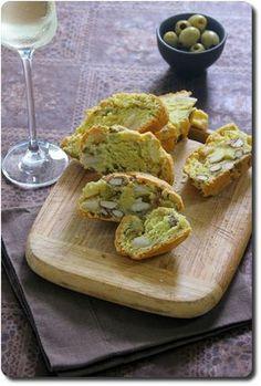Cantuccini apéritifs (biscotti de Toscane en version salée)