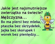 GIFY I OBRAZKI: NA WESOŁO Weekend Humor, Beautiful Love Pictures, Good Vibes Only, Wtf Funny, Man Humor, Motto, Good To Know, Sarcasm, Really Funny
