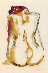 Artist Biography - Bill Buchman Figure Drawing