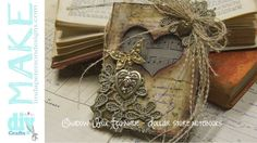 Mixed Media Monday - Create a shadowbox notebook