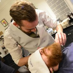 Male Grooming & Shaving at London's Traditional Barbers Shop ✂✂✂✂✂