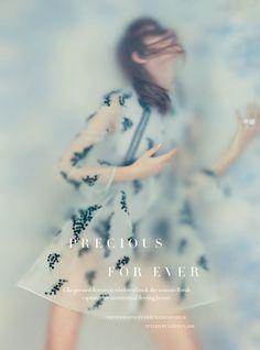 Precious Forever - Irina Kravchenko by Erik Madigan Heck for Harper's Bazaar UK May 2016 - Moncler Game Rouge