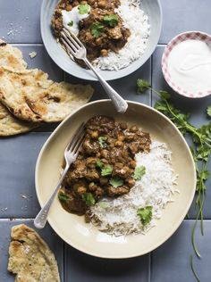 Fragrant Indian-spiced lamb curry - Chelsea Winter