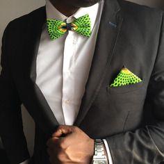 www.cewax.fr aime *** noeud papillon bande ajustable pour homme wax vert