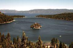 emerald bay, lake tahoe, nevada. favorite place ever.