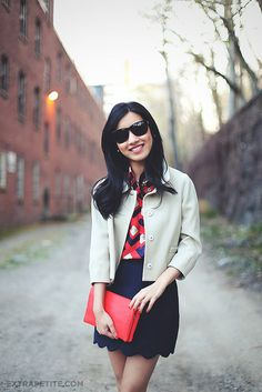 this blog has really great outfit ideas and tips for altering. ExtraPetite.com