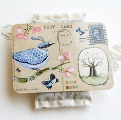 Field Note no 22 Post card Set by LilyMoon on Etsy, $9.00 Stunning postcard set