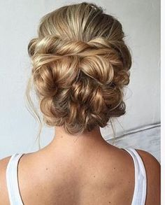 Best Hairstyles for Brides - Messy Bridal Updo- Amazing Hair Styles and Looks for Half Up Medium Styles, Updo With Long Hair, Short Curls, Vintage Loo. Wedding Hairstyles With Veil, Bride Hairstyles, Vintage Hairstyles, Cool Hairstyles, Wedding Updo, Evening Hairstyles, Latest Hairstyles, Vintage Updo, Hipster Hairstyles