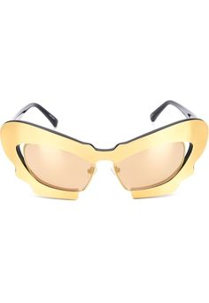 66fb4fac1c9 Linda Farrow Gallery YELLOW  amp  ORANGE Linda Farrow Gallery  Prabal  Gurung 1  sunglasses