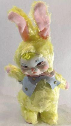 Vintage Dolls, Retro Vintage, Creepy Toys, Arte Horror, Arte Pop, Retro Toys, Vintage Easter, Antique Toys, Old Toys