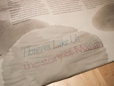 Thieves Like Us, the story of Marian, via Flickr.