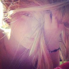 Summer hair sun blond