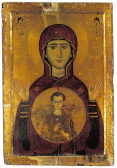 Icon of the Virgin Mary from Mt. Sinai.