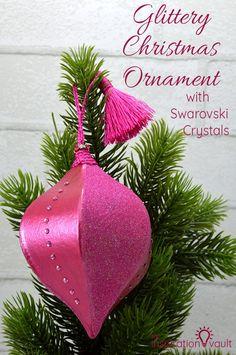 Glittery Christmas O