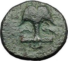 APOLLONIA PONTIKA Black Sea Area Thrace 3-2CenBC Apollo Anchor Greek Coin i55382