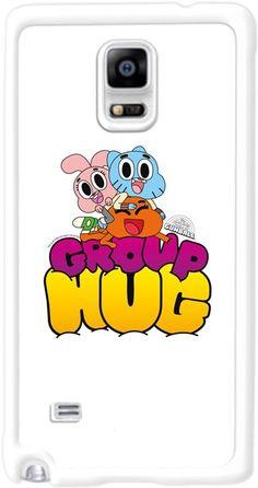 Gumball - Group Hug Kendin Tasarla - Samsung Note 4 Kılıfı