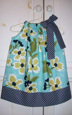Pillowcase Dress MODERN MEADOW Floral