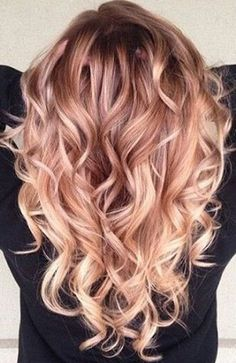 Love this color and these curls!