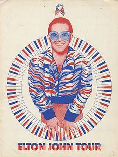 Elton John - Olympia Stadium, November 13, 14 & 15, 1974.  Went to all three shows.  This is a poster from that tour.