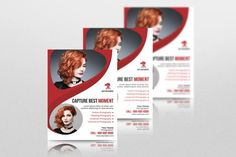 Items similar to Photography Flyer Template Corporate Flyer, Corporate Business, Business Design, Business Cards And Flyers, Business Flyer Templates, Photography Flyer, Photoshop Design, Professional Photographer, Flyer Design